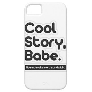 Cool Story Babe, Now Go Make Me a Sandwich Case For The iPhone 5