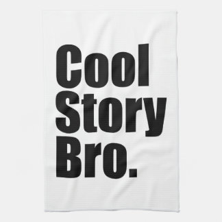 Cool Story Bro. American MoJo Kitchen Towe Tea Towels