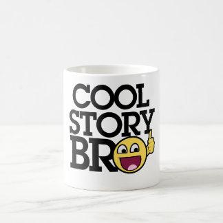 Cool story Bro Basic White Mug