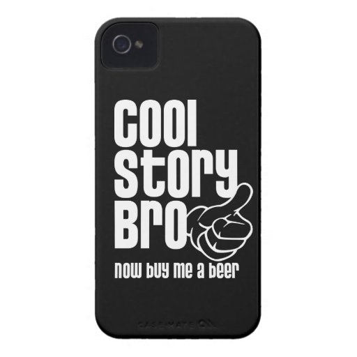 Cool Story Bro - Beer Blackberry Bold Case