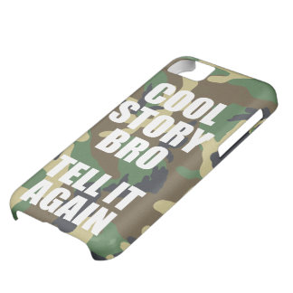 Cool Story Bro Camouflage iPhone 5C Covers