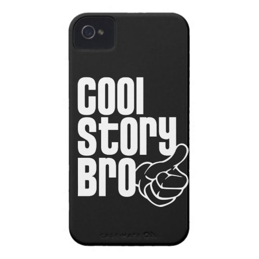 Cool Story Bro Blackberry Bold Cover