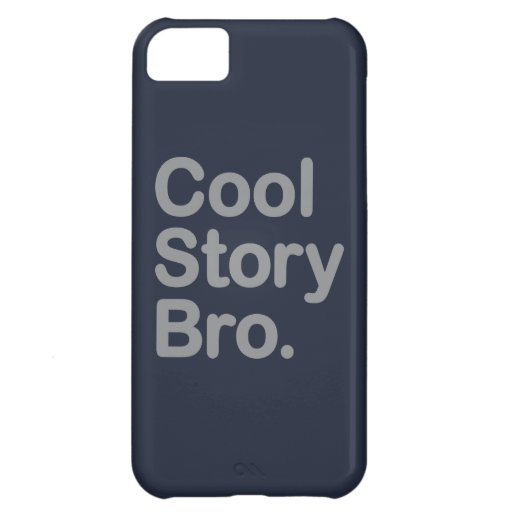 Cool Story Bro. iPhone 5C Cases