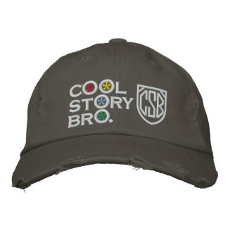 Cool Story Bro Embroidered Baseball Cap
