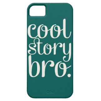 Cool Story Bro Green iPhone 5 Case