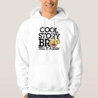 Cool Story bro Hooded Sweatshirts