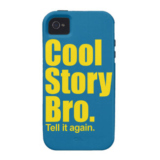 Cool Story Bro. iPhone 4 Covers