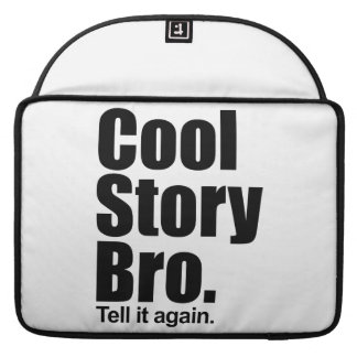 Cool Story Bro Mac Pro 15 Rickshaw Flap Sleeve Sleeve For MacBook Pro