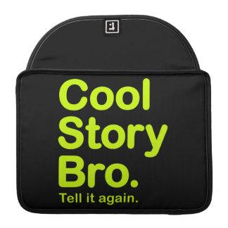 Cool Story Bro. Mac Pro Rickshaw Flap Sleeve MacBook Pro Sleeve