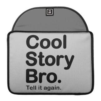 Cool Story Bro. Mac Pro Rickshaw Flap Sleeve Sleeve For MacBooks
