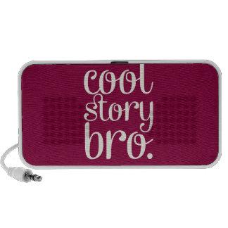 Cool Story Bro Maroon Notebook Speakers
