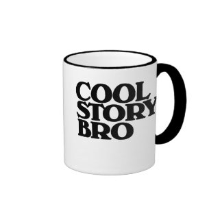 Cool Story BRO Ringer Mug