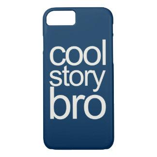 Cool Story Bro Navy Sans Serif iPhone 7 Case
