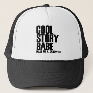 Cool Story Bro Parody Trucker Hat
