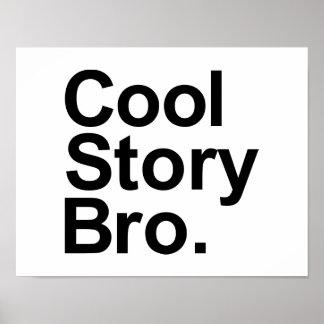 Cool story bro print