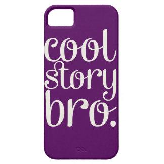 Cool Story Bro Purple iPhone 5 Case
