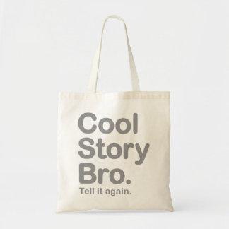 Cool Story Bro. Tell it again.  Bag