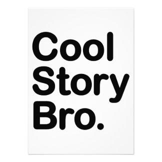 Cool Story Bro. Tell it Again Custom Invitations