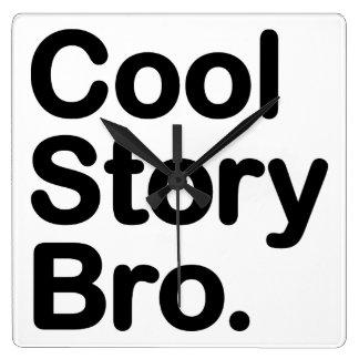 Cool Story Bro. Tell it Again Wallclocks