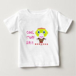 Cool Story Bruh-Cute Monkey-Morocko Baby T-Shirt