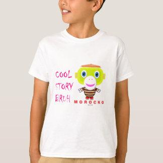 Cool Story Bruh-Cute Monkey-Morocko T-Shirt