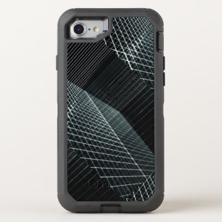 Cool Structure 3D Penetrating Light Background Hip OtterBox Defender iPhone 7 Case