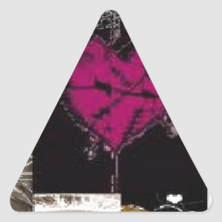 cool stuff triangle sticker