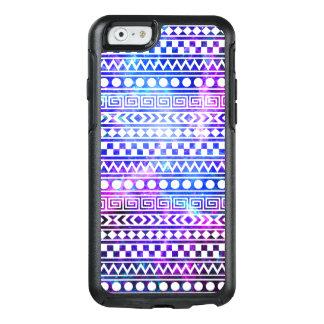Cool Stylish Aztec Nebula Galaxy Pink Purple Blue OtterBox iPhone 6/6s Case