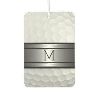 Cool Stylish Golf Sport Ball Texture Pattern Car Air Freshener