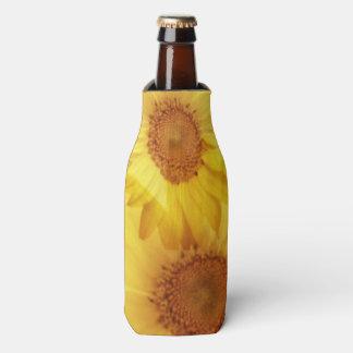 Cool Summer Sunflower Bottle Wrap Bottle Cooler
