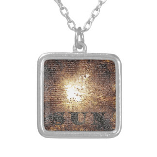 cool sun personalized necklace