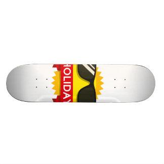 Cool sunglass sun 19.7 cm skateboard deck