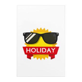 Cool sunglass sun acrylic print