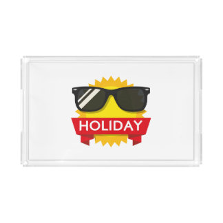 Cool sunglass sun acrylic tray
