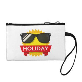 Cool sunglass sun coin purse