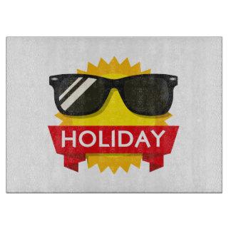 Cool sunglass sun cutting board