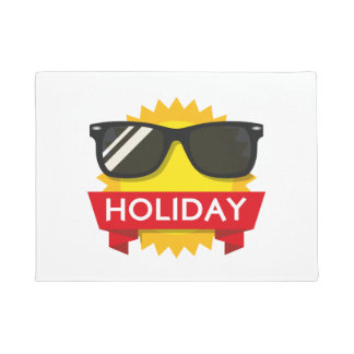 Cool sunglass sun doormat