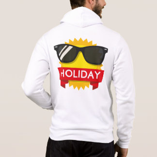 Cool sunglass sun hoodie