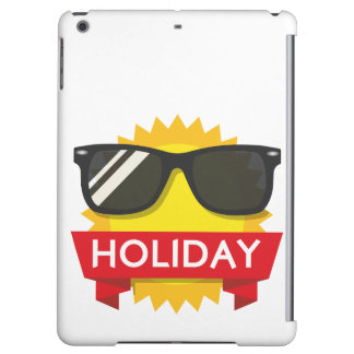 Cool sunglass sun iPad air cover