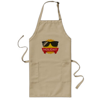 Cool sunglass sun long apron