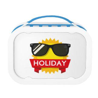 Cool sunglass sun lunch box