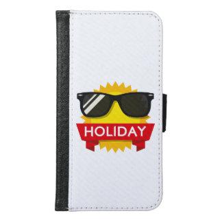 Cool sunglass sun samsung galaxy s6 wallet case