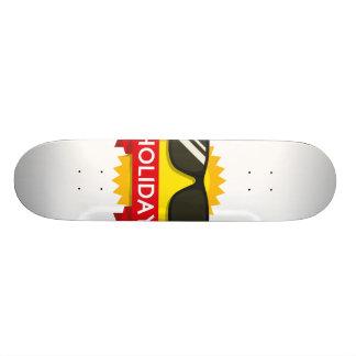 Cool sunglass sun skateboard decks