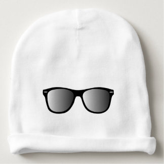 Cool Sunglasses Shades Baby Infant Beanie Hat Baby Beanie