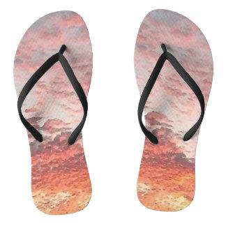 Cool Sunset Design Thongs