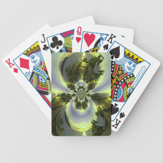 Cool Surreal Fantasy Abstract Bicycle Playing Cards