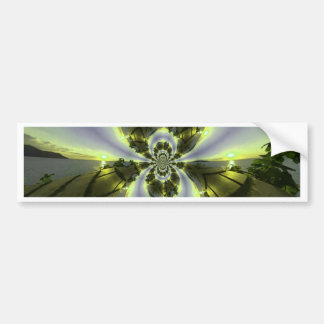 Cool Surreal Fantasy Abstract Bumper Sticker