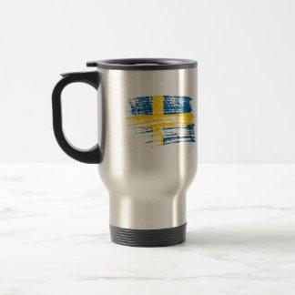 Cool Swedish flag design Coffee Mug