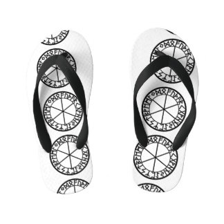 Cool Symbol Flip Flops Thongs