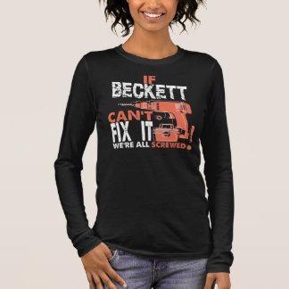 Cool T-Shirt For BECKETT